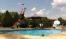 Check Out This Incredible Aquatic Basketball Trick Shot (Video)