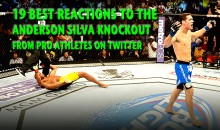 19 Best Reactions to the Anderson Silva Knockout from Pro Athletes on Twitter