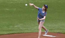 Carly Rae Jepsen Throws One of the Worst Ceremonial First Pitches of All-Time (Video)