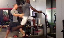 Chad Johnson Tries to Steal Robert Grill's Thunder with Video of a 24 MPH Treadmill Sprint at a 2.5% Incline (Videos)