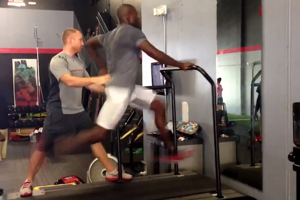 chad johnson 24 mph treadmill
