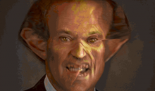 Here's an Animated GIF of Chris Berman Turning Into a Demon, Because Why Not? (GIF)