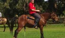 Chris Kaman and His Horse Are Pumped to Be Joining the Lakers (Pic)