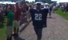 Attention-Seeking Cowboys Fan Shows Up to First Day of Redskins Training Camp, Gets Booed (Video)
