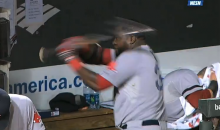 David Ortiz Smashes Dugout Phone to Pieces With a Bat, Gets Ejected (Videos)