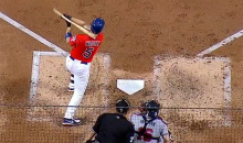 David Wright Was Hit in the Head by His Own Bat Last Night (Video)