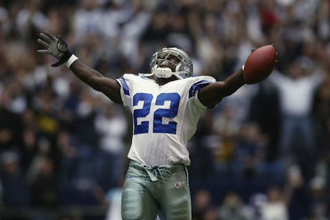 emmitt smith - nfl sign and retire