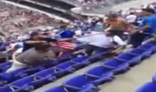 Nasty Soccer Fan Brawl Erupts During USA-El Salvador Gold Cup Match (Video)
