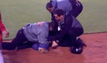 Fan Runs Onto Field at Giants Game, Security Tackles Him and Crushes His Face (Video)