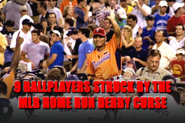 home run derby curse
