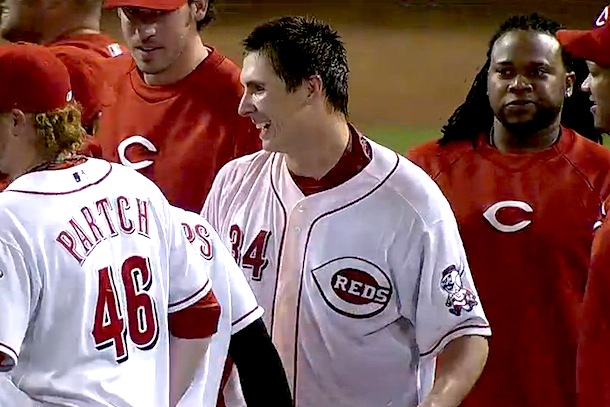 homer bailey no-hitter 2
