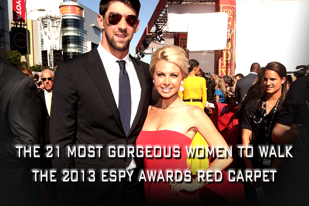 hottest women on the 2013 ESPYs red carpet