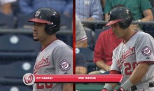 Ian Desmond Shaved His Beard Between At Bats Last Night (Video)