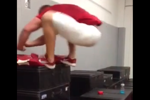 j.j. watt insane box jump