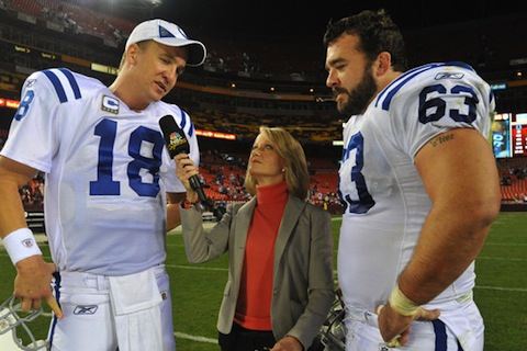 jeff saturday - nfl sign and retire