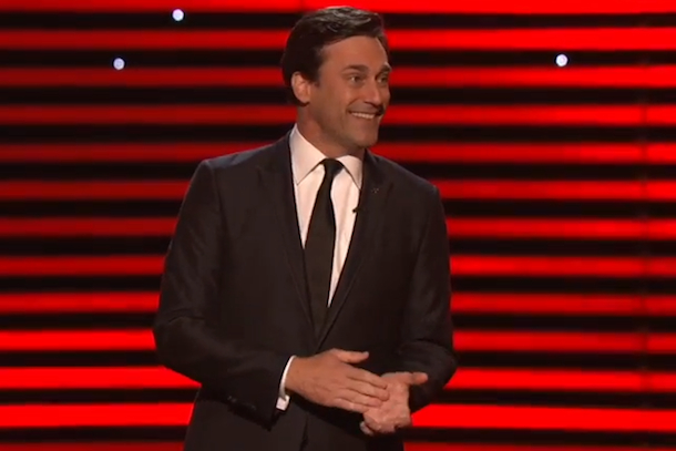 jon hamm hosts espys - opening monologue