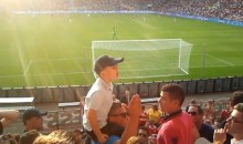 Little Dutch Kid Leads PSV Eindhoven Chants Like a Boss (Video)