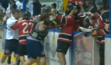 Lacrosse Brawl! (Video)
