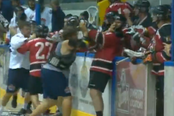 lacrosse brawl