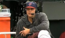 Indians Pitcher Justin Masterson Displays Zen-Like Concentration During Interview (Video)