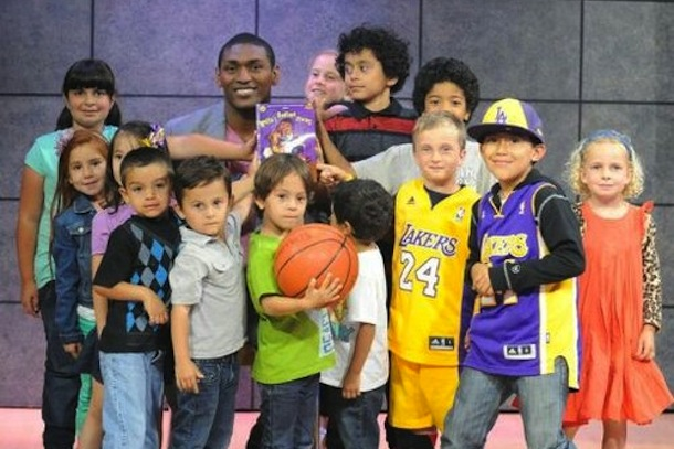metta world peace twitter pic