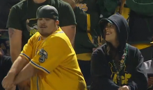 Oakland A's Fans Sure Love to Dance (Videos)