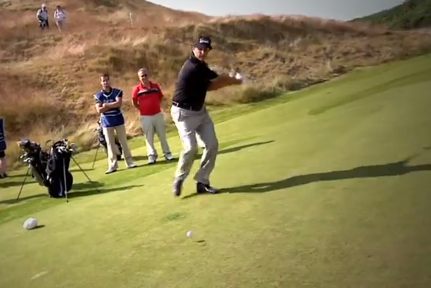 phil mickelson happy gilmore swing