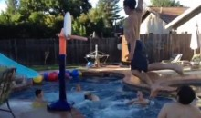 Viral Vine: Is This the Greatest Pool, Trick-Shot, Alley-Oop Dunk Ever?