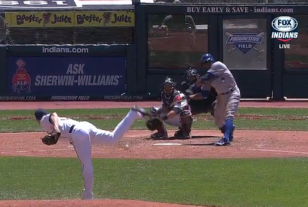 rajai davis terrible swinging strike