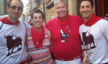With Nothing Left to Lose, Rex Ryan Runs with Bulls in Pamplona (Video)