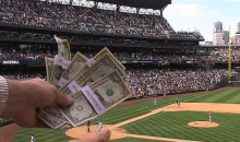 Someone Was Making It Rain at Safeco Field Yesterday (Video)