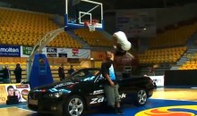 Dunk Artist Guy Dupuy One-Ups Blake Griffin With Through-the-Legs Dunk Over BMW (Video)