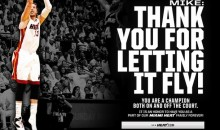 Miami Heat Take Out Full Page Ad in Newspaper to Thank Mike Miller After Waiving Him