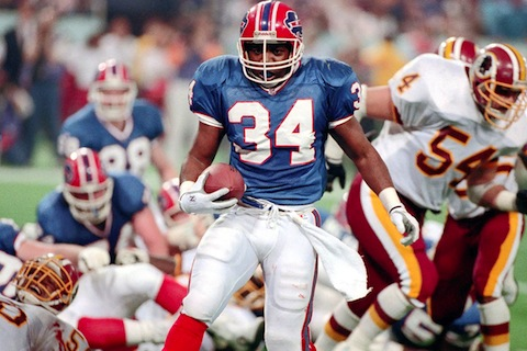 thurman thomas - nfl sign and retire