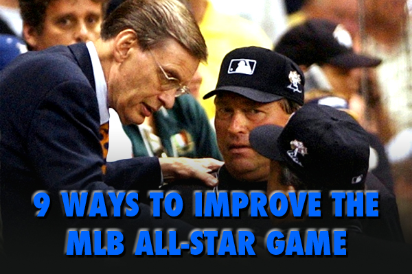 ways to improve the mlb all-star game