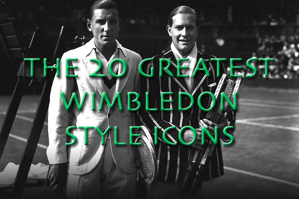 wimbledon style icons