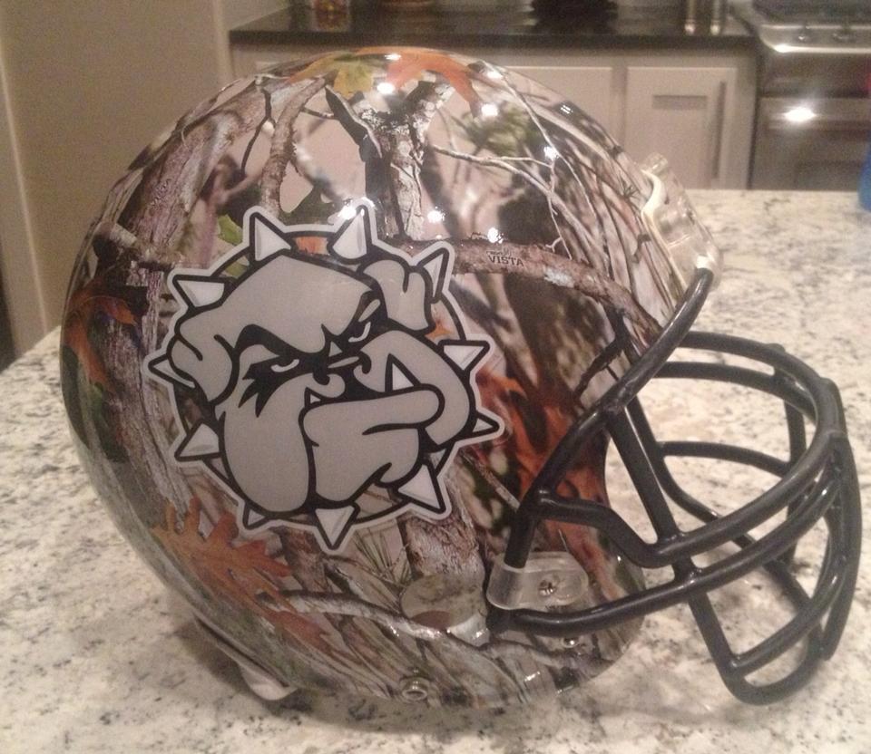1 new southwestern oklahoma state football helmet - 2013 college football helmets