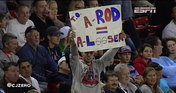 10 a-rod a looser - a-rod fan signs