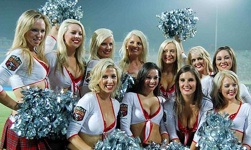 10 deccan chargers cheerleaders 1