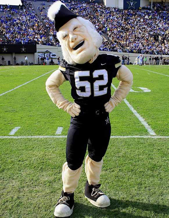 10 vanderbilt mr. commodore - creepiest college football mascots