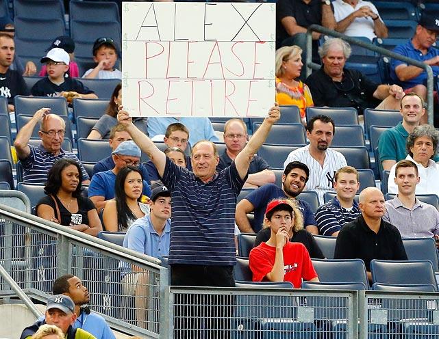 11 alex please retire - a-rod fan signs