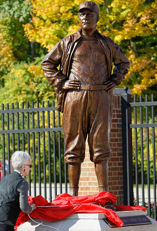 11 earl blaik - college football legends with their own statues