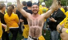 21 Crazy Fans Who Shaved their Allegiance Into their Chest (or Back)