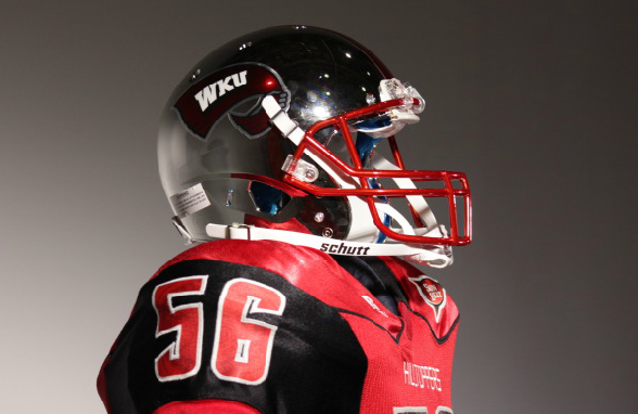 11 new western kentucky football helmets - 2013 college football helmets
