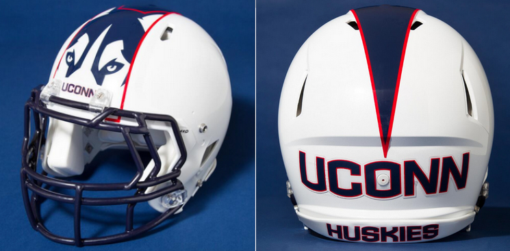 12 new uconn huskies football helmets - 2013 college football helmets