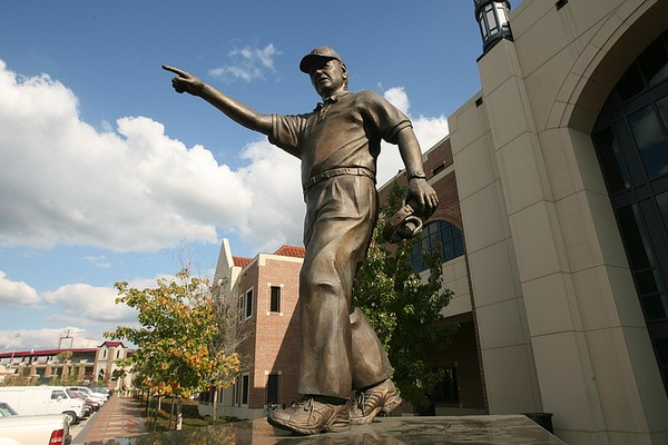 14 bobby bowden statue - college football legends with their own statues