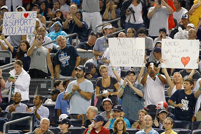 14 love and support - a-rod fan signs
