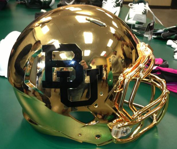 14 new baylor football helmets - 2013 college football helmets