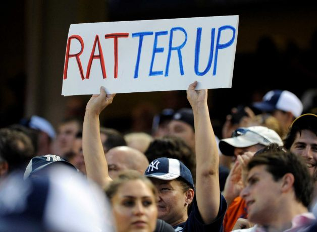 15 ratter up - a-rod fan signs