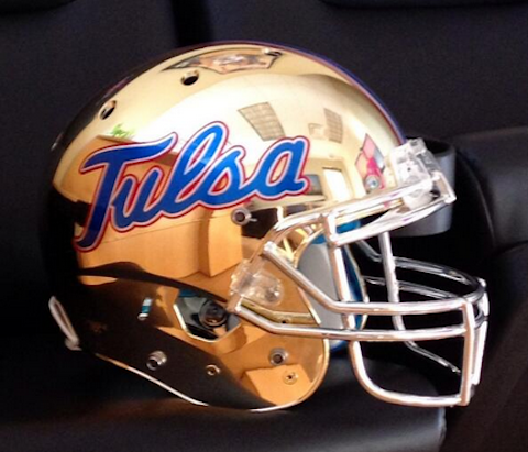 16 new tulsa football helmets - 2013 college football helmets